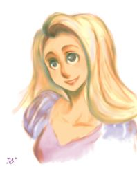 Rapunzel Sketch for ToyBox by JICheshire