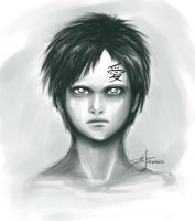 A child named Gaara by djmidori