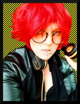 Mystic Messenger: 707 Cosplay by One-Wicked-Symphony