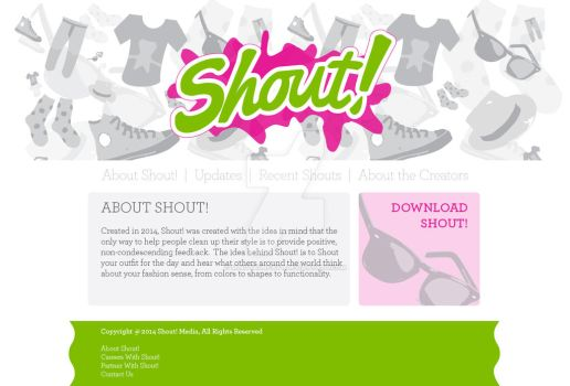 Shout Website by minotaurfayt