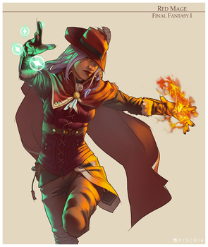RED MAGE by Pryce14