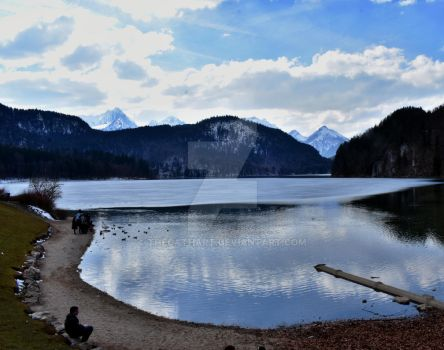 Alpsee by TheCathArt