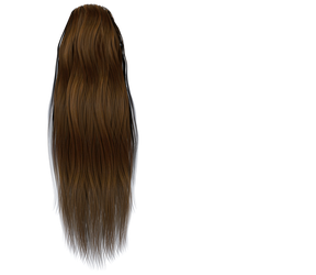 Stock Hair Images #5 long brown back flat by madetobeunique