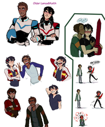 Klance Sketchdump by iWillBite