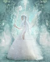 White Fairy by babsartcreations
