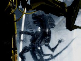 ALIENS : final fight by RoguePL