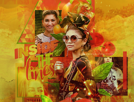 +edicion // Inside the lines - Zendaya. by CAMI-CURLES-EDITIONS