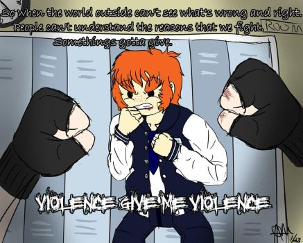 ANIMATION (link in desc.) Violence In The Halls by CowDemonOfficial