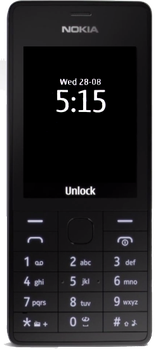 Nokia 515 minimal black theme by Tringi