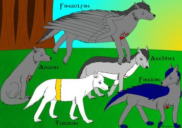 Fingolfinian Wolves 2014 by Ataraxia25