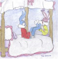 Request 18: Babs Bunny's bed by Timon-Berkowitz