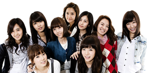 Girls Generation PNG by ToraLoex