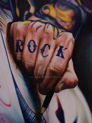 ROCK ON detail by klukart