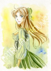 Maud Aquarelle by patriciaLyfoung