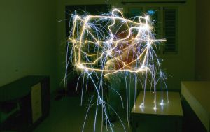 Light Painting VII by 7ucky