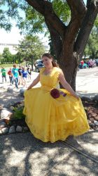 Belle Gown Cosplay at Con by Elentari-Liv