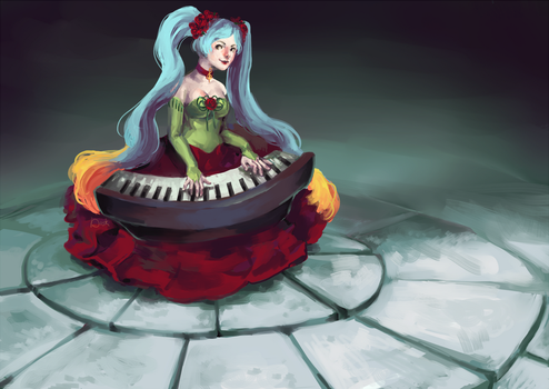 Play me a Song by duskemi