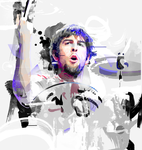 Rob Bourdon (Motion in Grunge) by Aseo