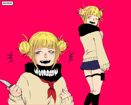 Himiko Toga by Hachine