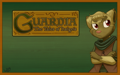 Guardia 2 Year Anniversary: Yggdra Wallpaper by lemondragon19