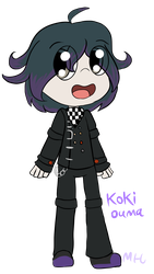 Koki Ouma [Saiouma love child] by OctoWeeb