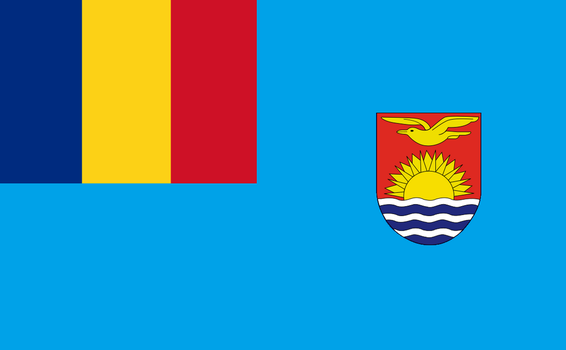 Elisabeta Islands Overseas Territory Flag by Dom-Bul