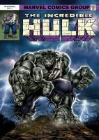 Hulk Annual - Gray Hulk variant by Simon-Williams-Art