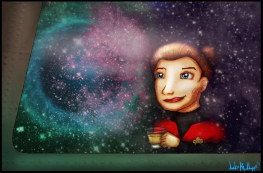 There's Coffee In That Nebula by Phillippeaux