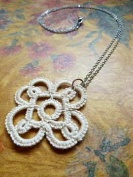 Rosette Pendant by photopixie