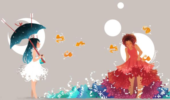 sea legs by CanvasConstellations