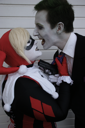 Valentine kisses by WeepingclovnCosplays