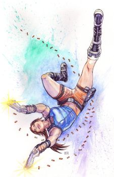NYCC Charity Auction Tomb Raider Piece by thecreatorhd