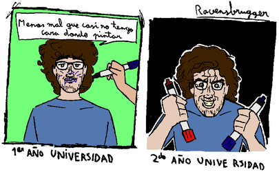 Novatadas Universidad by ravensbrugger