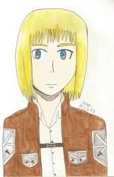 SnK: 15 year old Armin Arlert by TheARTIST-4