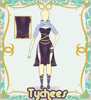 Outfit Adoptable (Auction) #9 CLOSE!! by Tychees