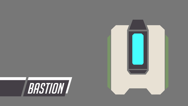 Overwatch | Bastion Icon Wallpaper by PERPU1