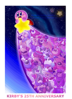 Helpers And Hero :: Kirby's 25th Anniversary by x-Hypotermia-x