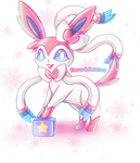 Sylveon by Hime-na
