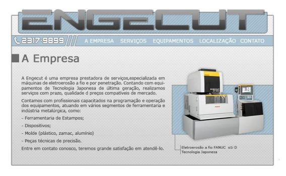 Engecut Website by ge04