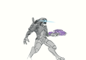How to draw a Geth by LordKomodo