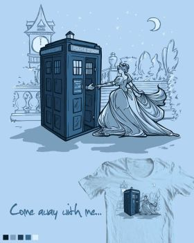 Threadless Submission: Come Away with Me by khallion