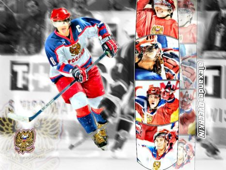 Alexander Ovechkin team Russia by LeRoidesRois
