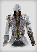 Connor Kenway by Feakry