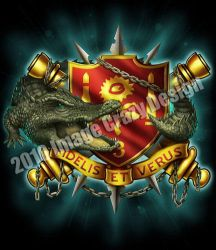 US Army 'Alligator red' design by JSein