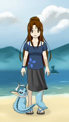 Claire Delune: My pokemon Trainer by goddess-of-the-moon1