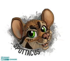 Spottacus Badge by zhivagooo