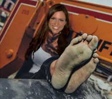 Stephanie McMahon Soles by WrestlingFeet