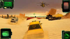 FO:E Wasteland Taxi Service. by Raikos-Scribbles