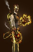Steam Powered Fists 2 by DecayingArt
