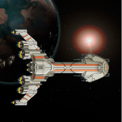 FTL Ship 2 by TheSciFiArtisan
